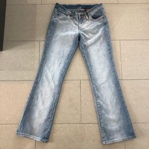 Vintage Faded Flare Bongo Jeans